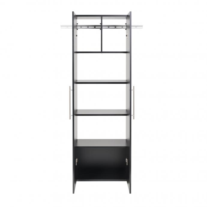 "HangUps 24"" Large Storage Cabinet, Black front"
