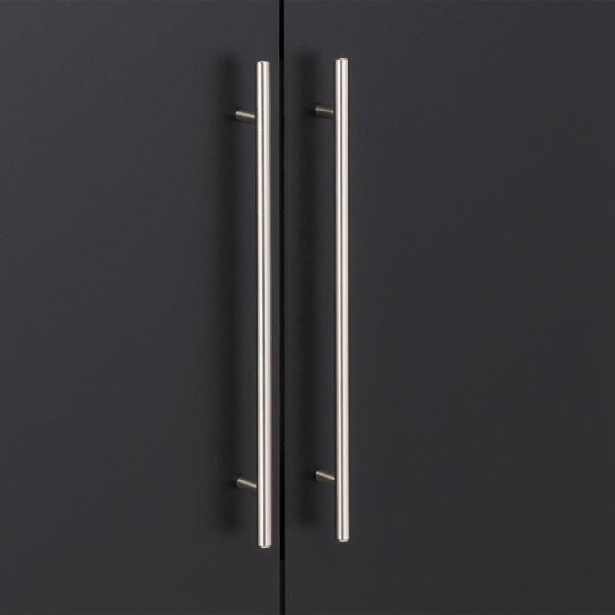 "HangUps 24"" Large Storage Cabinet, Black detail"