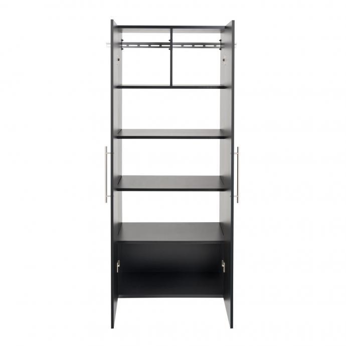 "HangUps 30"" Large Storage Cabinet, Black front"