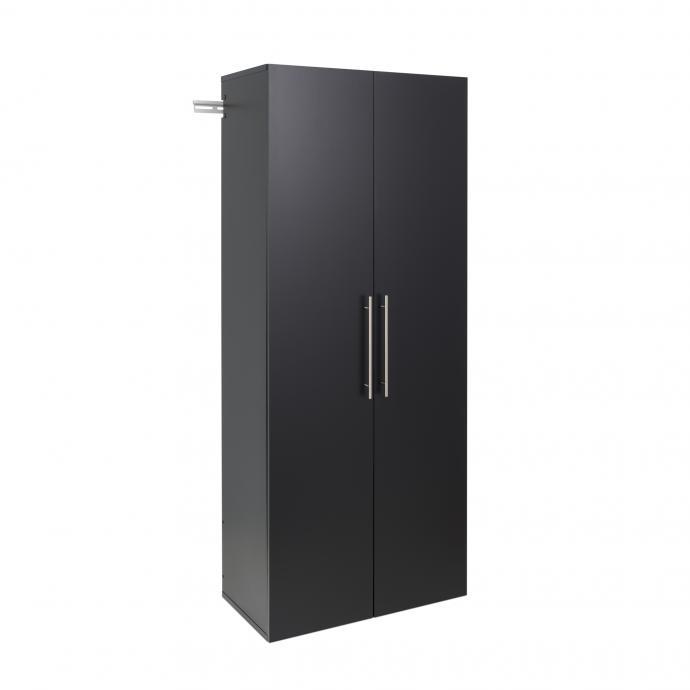 "HangUps 30"" Large Storage Cabinet, Black"