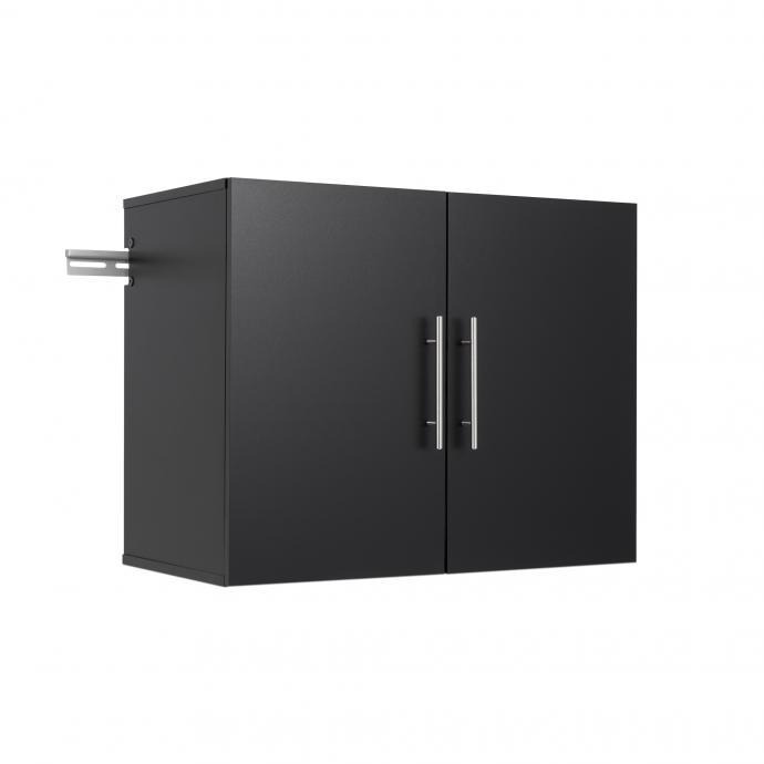 """HangUps 30"""" Upper Storage Cabinet, Black"""