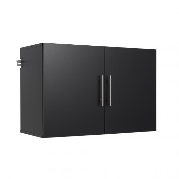 """Black HangUps 36"""" Upper Storage Cabinet"""