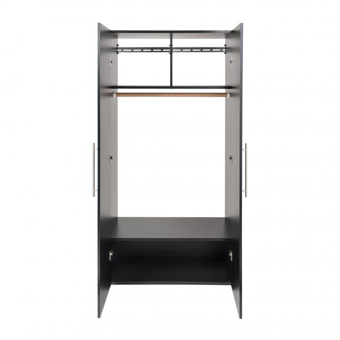 Black HangUps Wardrobe Cabinet