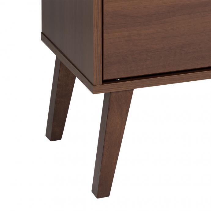 Milo 6-drawer Dresser in Cherry detail