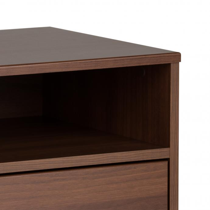 Milo Tall 2-drawer Nightstand, Cherry