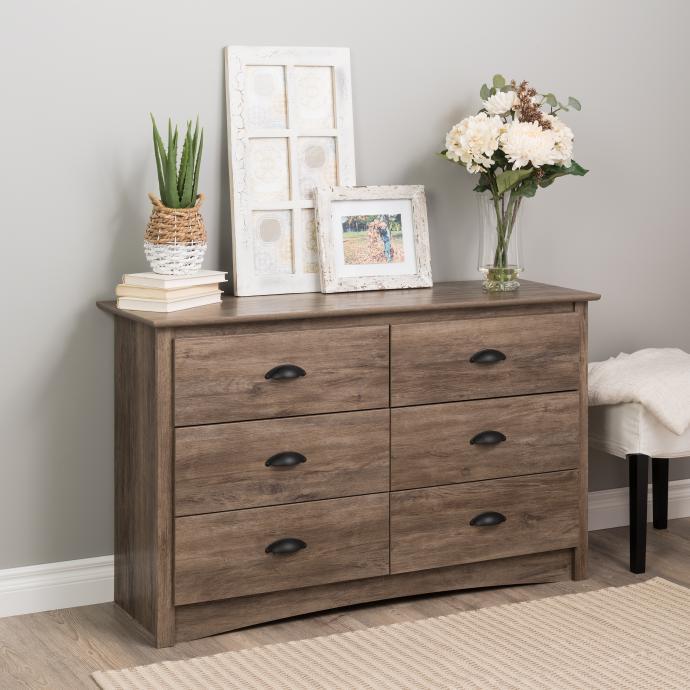 Prepac Salt Spring Children's 6-Drawer Dresser