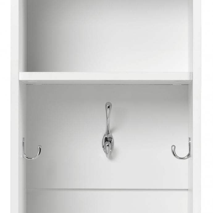 Narrow Entryway Locker, Set of 2 detail