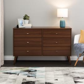 Milo 6-drawer Dresser in Cherry