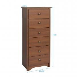 Tall 6-drawer Chest dimensions