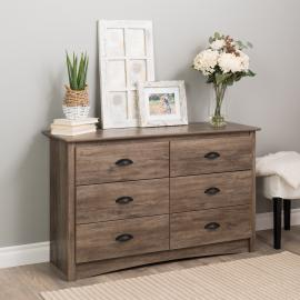 Prepac Salt Spring Children's 6-Drawer Dresser