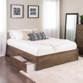 Salt Spring Double or Queen Headboard in Drifted Gray