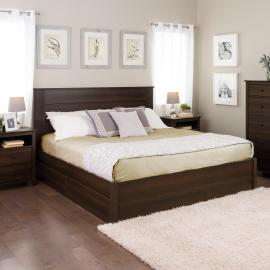 Select 4-Post Platform Bed with Optional Drawers