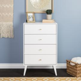 Prepac Milo 4-drawer Chest