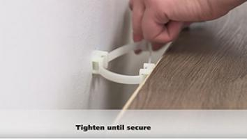 How To Install the Tipover Restraint Device